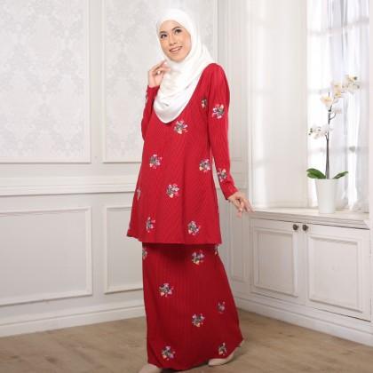 Kurung Alur - Red